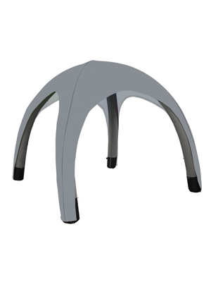 Bora Inflatable Tent Canopy - Light Grey