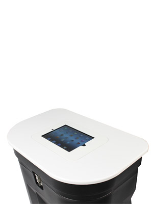 Zenith and Zeus Table Top with iPad holder