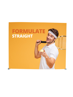 Formulate Horizontal Straight