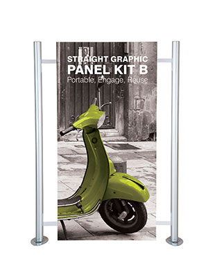 Straight Graphic Panel Kit B