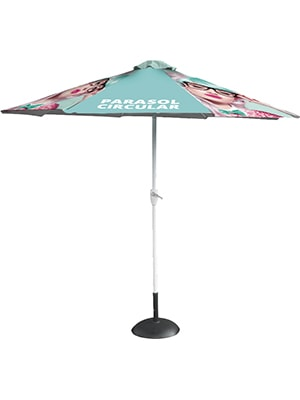 Circular Parasol Frame with optional canopy & base