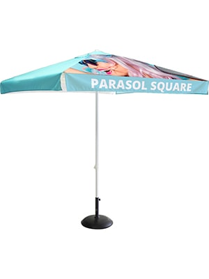 Square Parasol with optional canopy & base