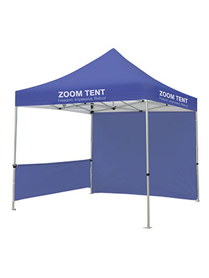 Ultima Displays - Zoom Tent Half Wall Mount bar