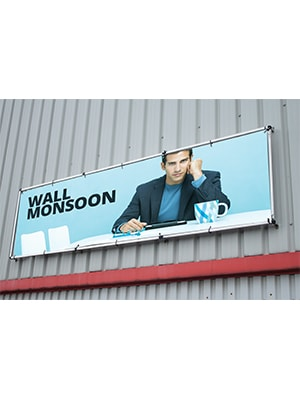 Wall Monsoon 3000mm(w) x 1250mm(h)