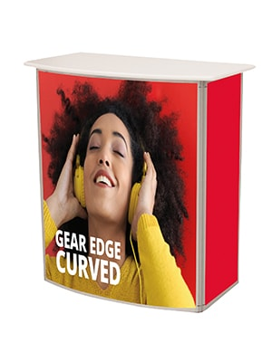 Gear Edge Curved Counter Front (Graphic Option)