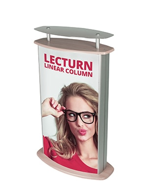 Lecturn Linear Column Graphic