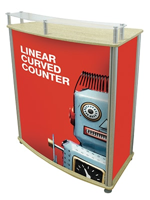Linear Curved Counter