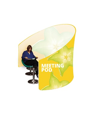 Formulate Meeting Pod with graphic