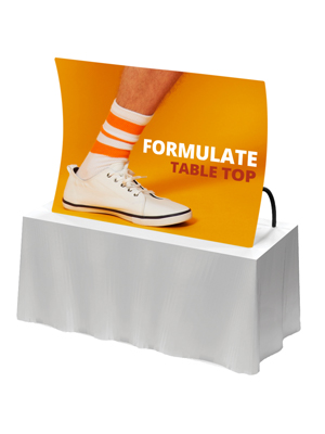 Formulate Table Top Graphic