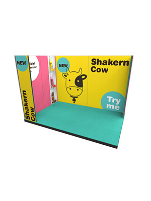 Vector Lite Shakern Cow Stand S5