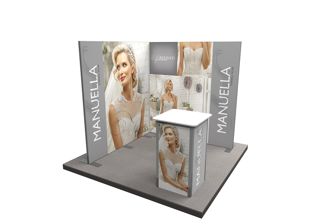Exhibition Stand Design Gallery : Ultima displays vector lite exhibition stand gallery