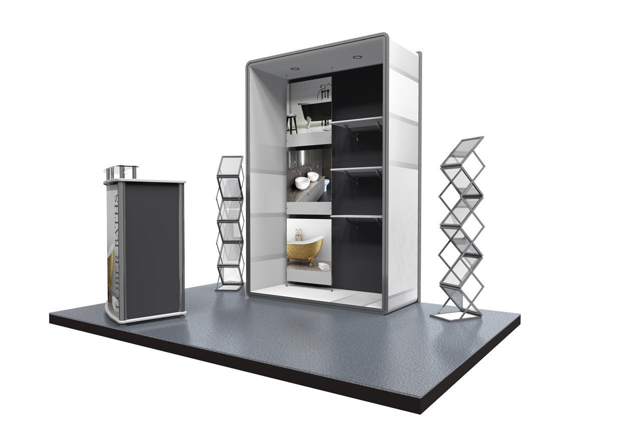 Exhibition Stand Shelves : Ultima displays modular exhibition stand gallery