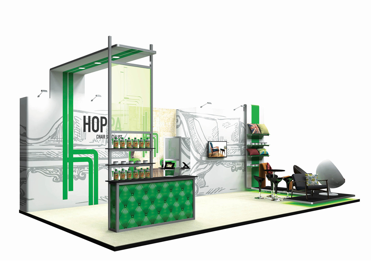 Modular Exhibition Stands Job : Ultima displays modular exhibition stand gallery