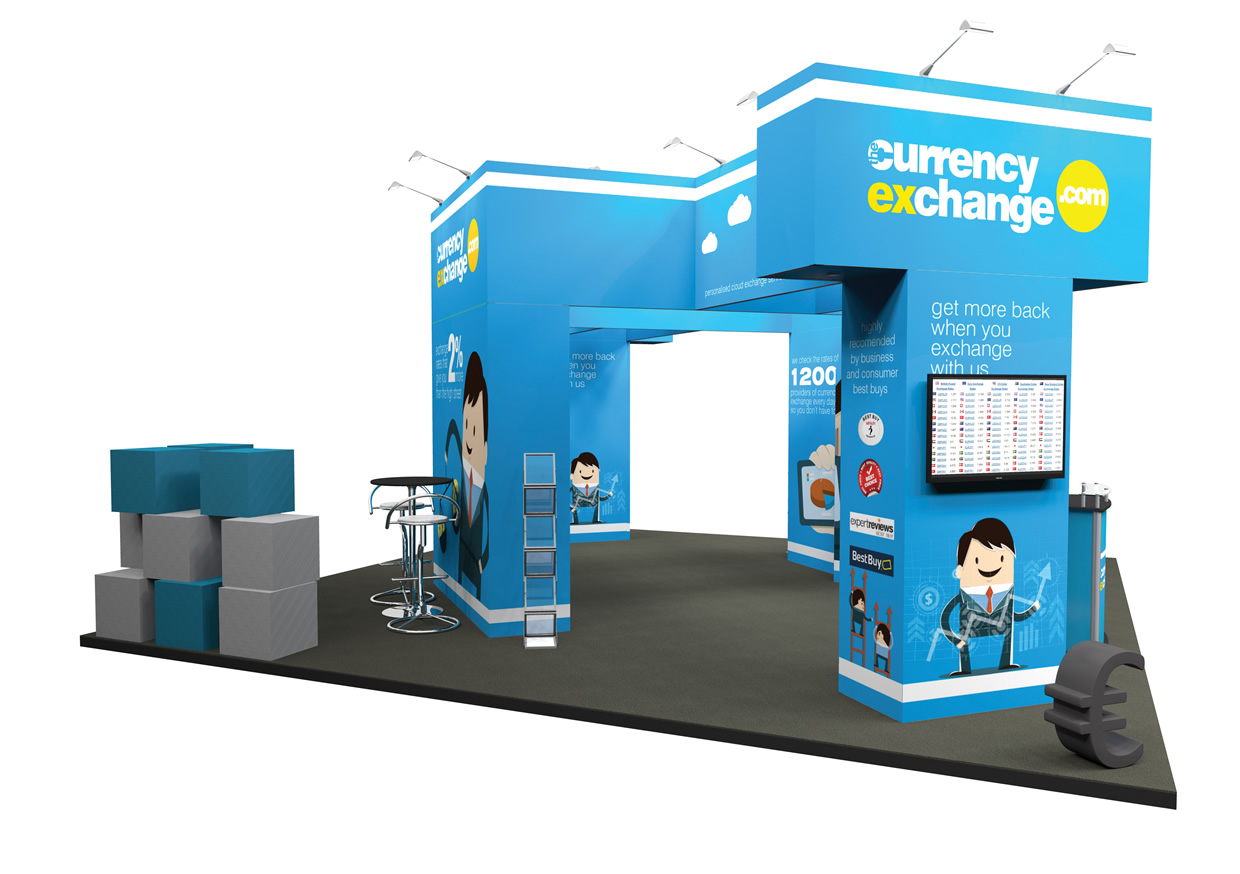 Marketing Exhibition Stand Examples : Ultima displays modular exhibition stand gallery