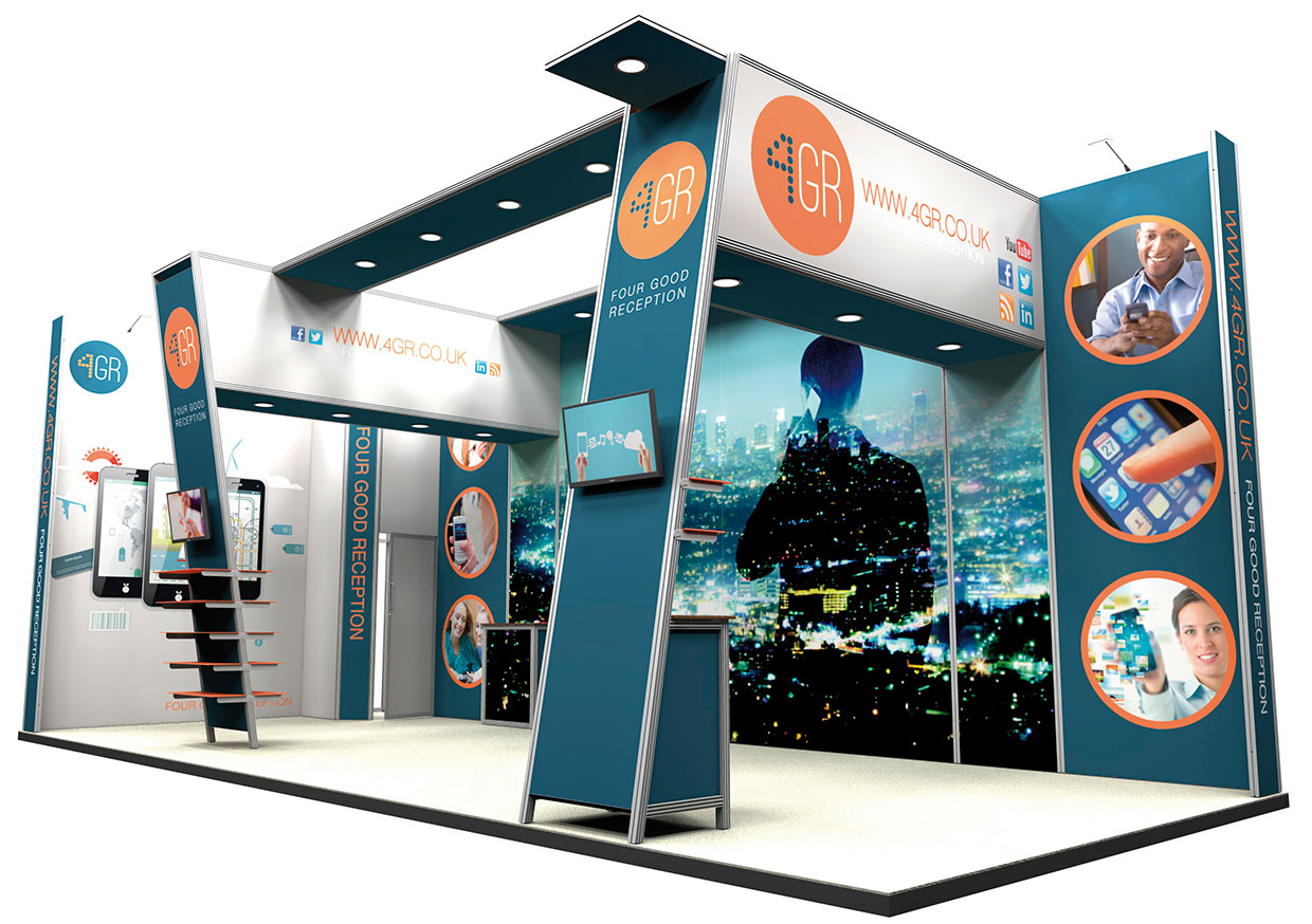 Modular Exhibition Display Stands : Ultima displays modular exhibition stand gallery